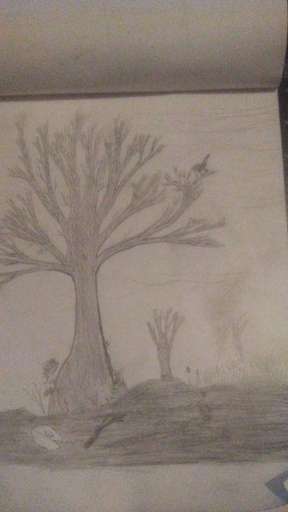 Swamp Oak - Miles's Art Exhibit
