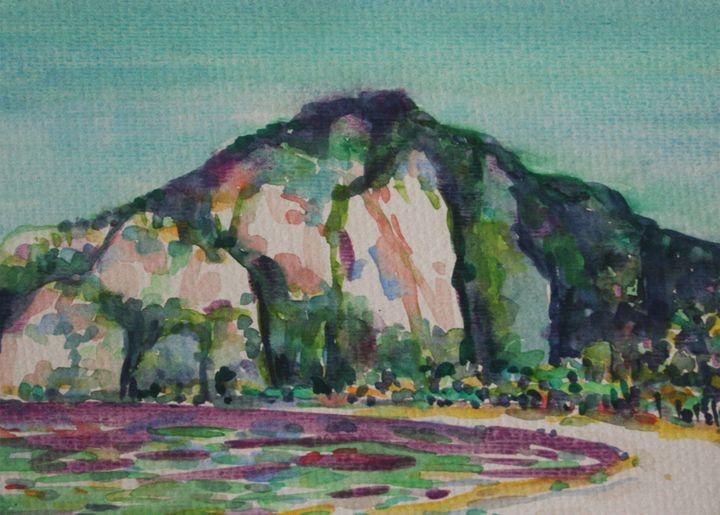 Watercolor Landscape-069 - SiriputArts