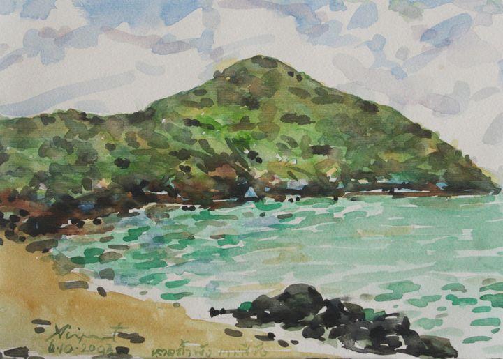 Watercolor Landscape-077 - SiriputArts
