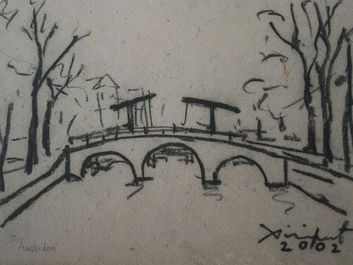 Drawing Landscape-003 - SiriputArts