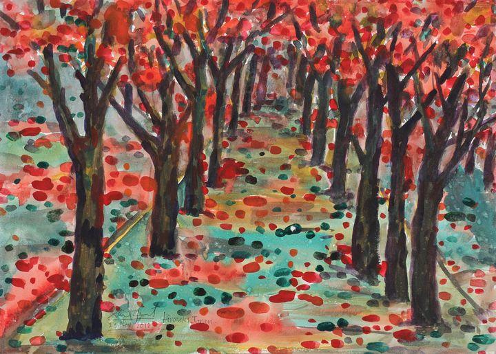Watercolor Landscape-132 - SiriputArts