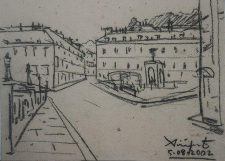 Drawing Landscape-009 - SiriputArts