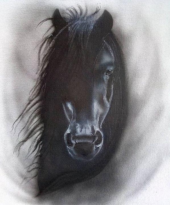 "Black Beauty - The ""ART"" of G'iles"