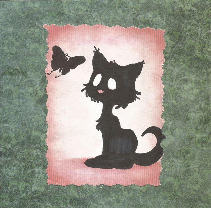Scaredy Cat - Bomb Art
