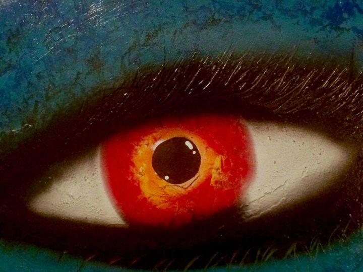 Blue Eye - Bomb Art