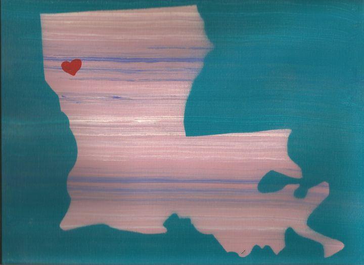 pink lousisiana - Bomb Art