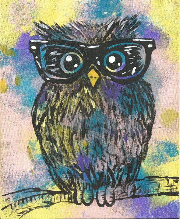 Professor Owl - Bomb Art