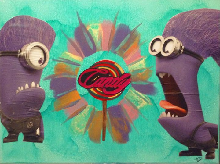 Despictable Candy - Bomb Art