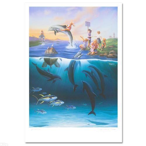 Dolphin Rides - Chantry Fine Art Galleries