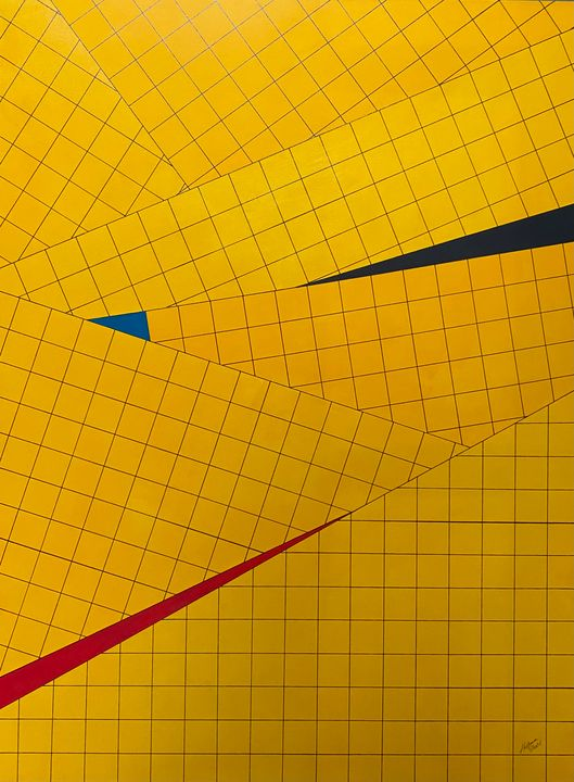 The Grid Series #9 - Ron Hartgrove