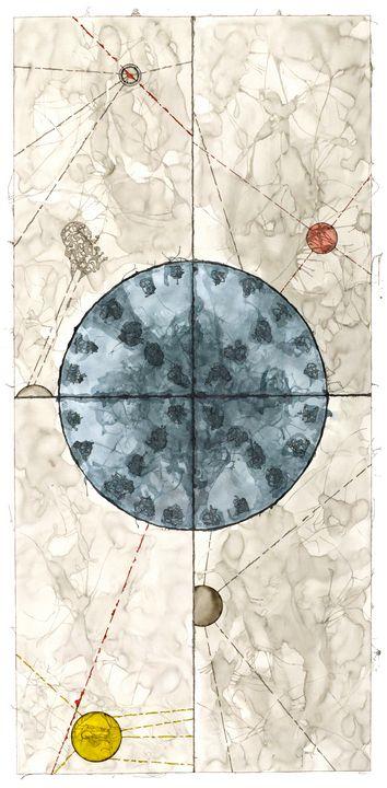 Mandala: The Yes in No, #L3 - Ron Hartgrove