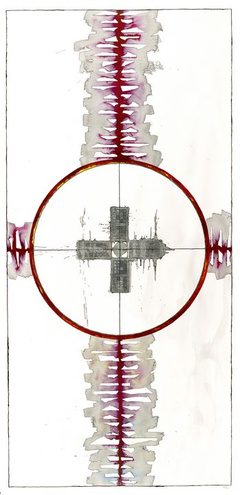 Mandala: The Yes in No, #L04 - Ron Hartgrove