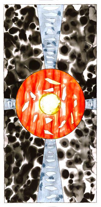 """Mandala: The Yes in No #L07"" - Ron Hartgrove"