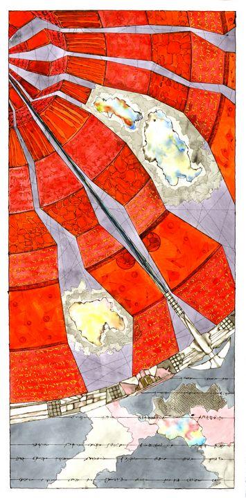 """Mandala: The Yes in No #L10"" - Ron Hartgrove"