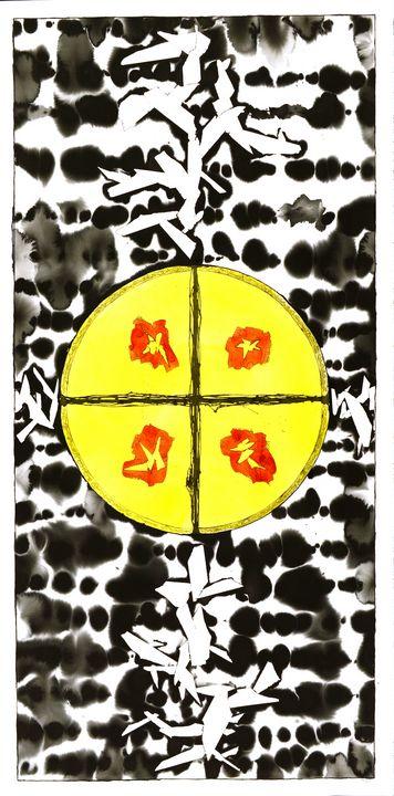 """Mandala: The Yes in No #L15"" - Ron Hartgrove"