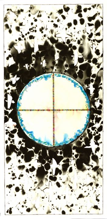 """Mandala: The Yes in No #L16"" - Ron Hartgrove"