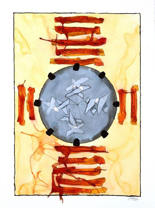 """Mandala: The Yes in No #M20"" - Ron Hartgrove"