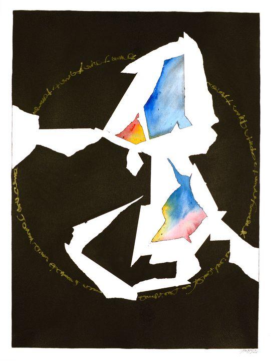 """""""Mandala: The Yes in No #S04"""" - Ron Hartgrove"""
