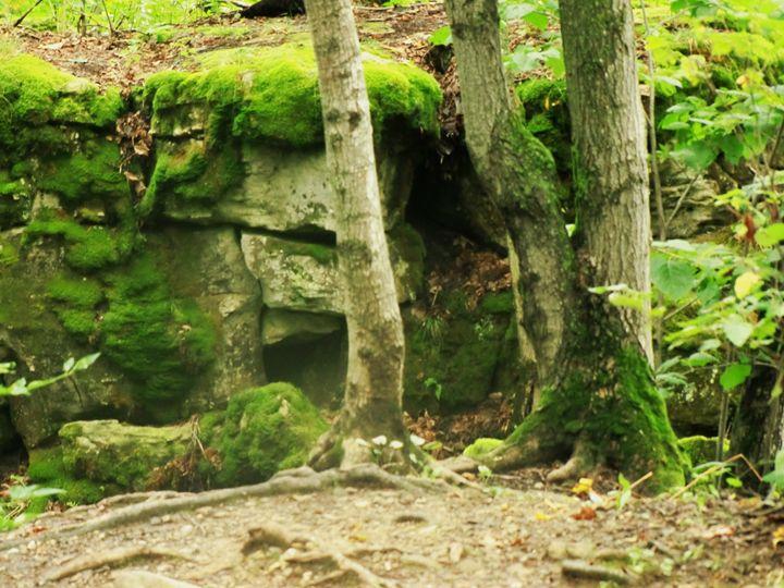Mossy Rocks - MissJuliaDoll