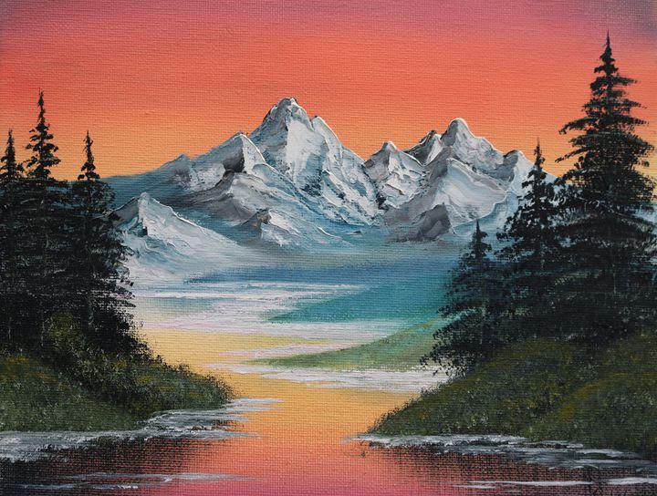Sunset - R. Cels