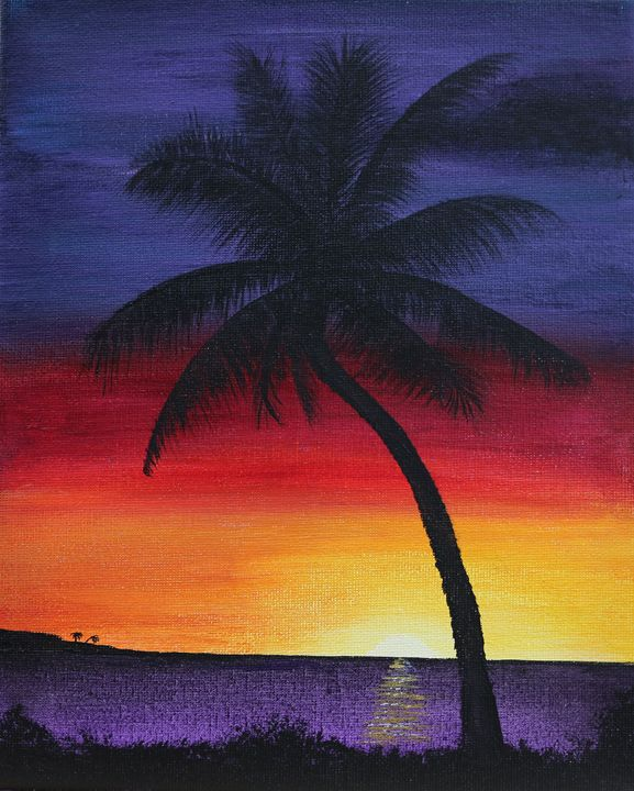 Tropical Sunset - R. Cels