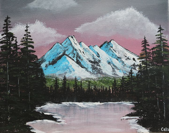 Winter Mountains - R. Cels