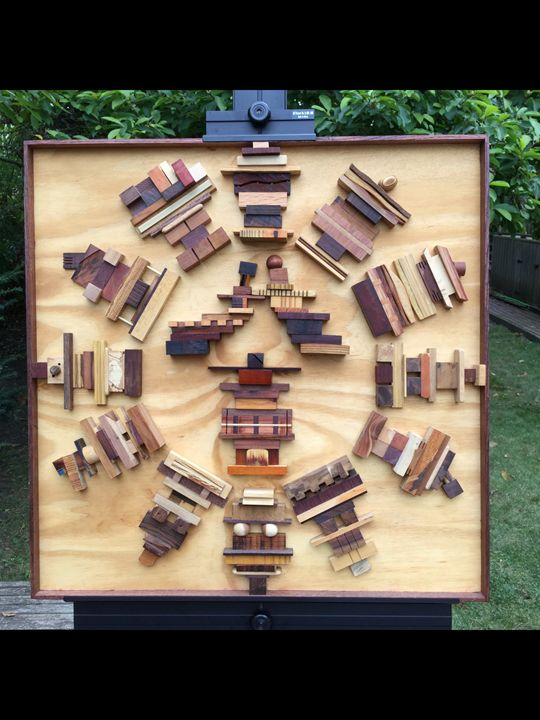 The Wedding - Wood assemblages
