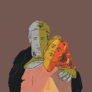 X-Files neon pulp