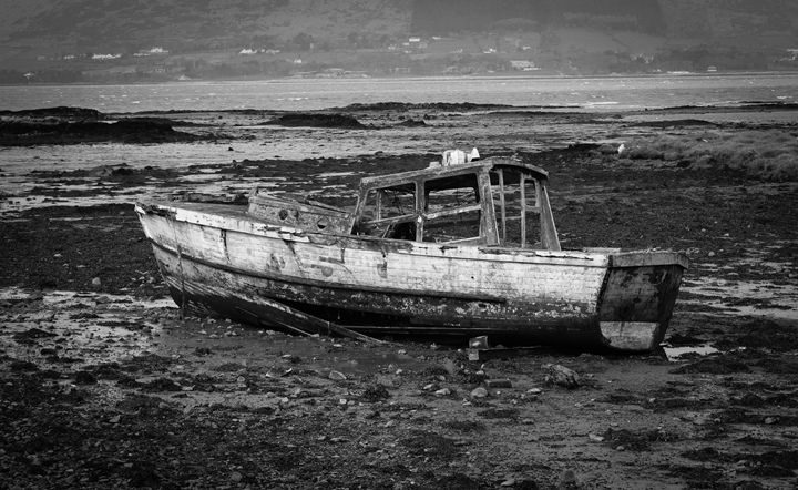 Carlingford Boat - KJordan Photography
