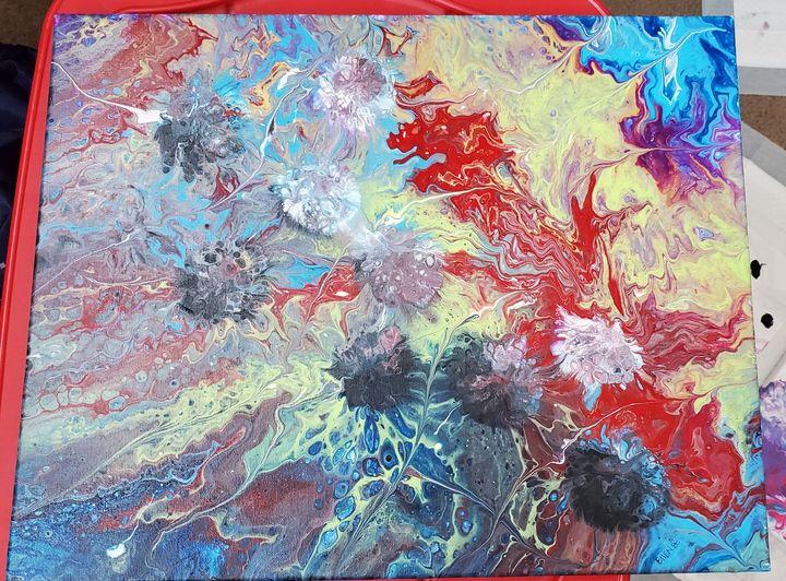 Abstract Space - Ellen Orellana