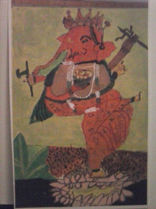 dancing ganesh - Ananda Art Works