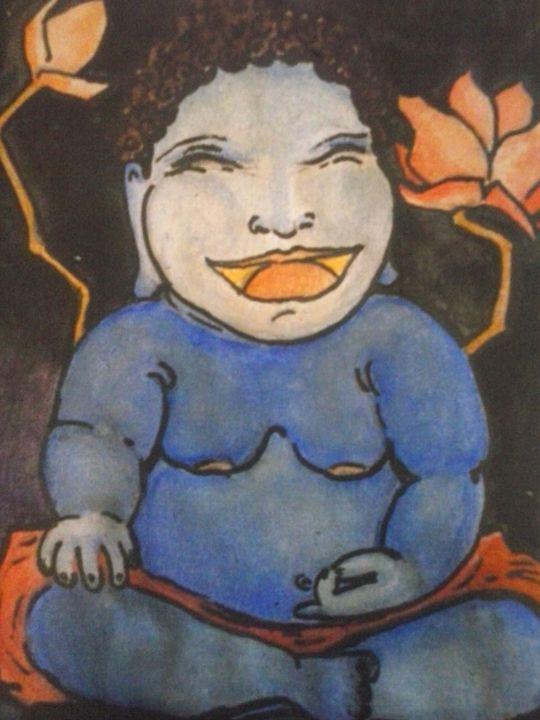 laughing buddha - Ananda Art Works
