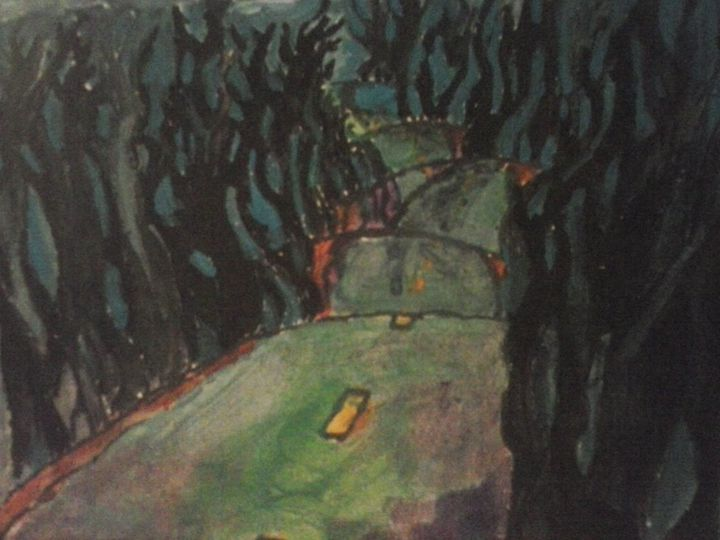 dark road - Ananda Art Works
