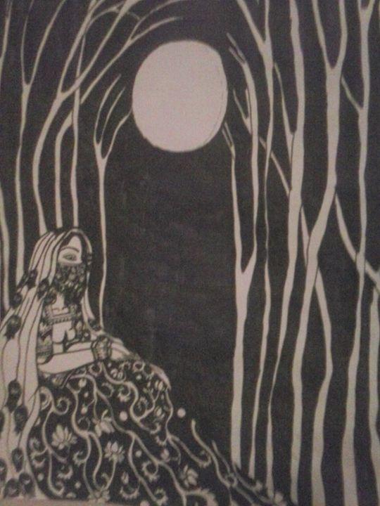 black night - Ananda Art Works