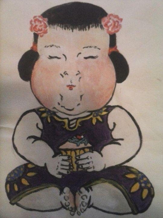 china doll - Ananda Art Works
