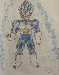 Vegeta Super Saiyan Blue 2