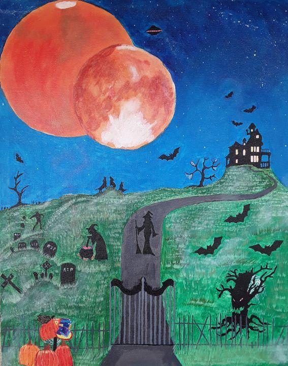 all hallows eve - lethia thomas