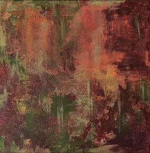 South. Small Abstract artwork.