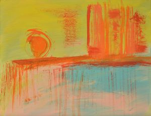 Sunrize. Small abstract.