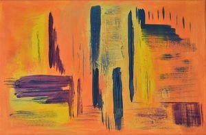 Sunny Skyline, Abstract.