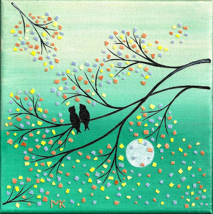 Birds on a Tree - PassionMK