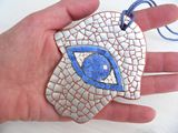 Hamsa EggShell Mosaic