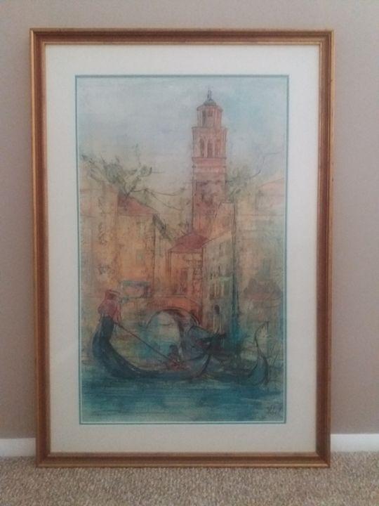 Canale in Venice - Woolridge