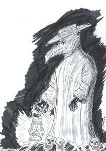 Plague Doctor Original Skech