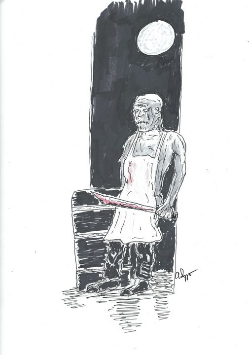 Horror Illustration 11.27.20 - Izzo Artworks (Anthony Izzo)