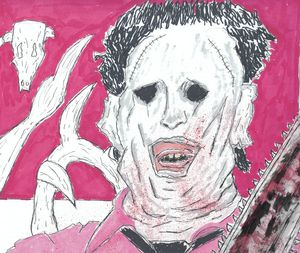 Leatherface with Chainsaw