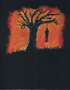 The Hangman's Tree Original Acrylic