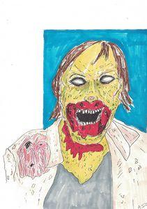 Rotting Zombie Sketch