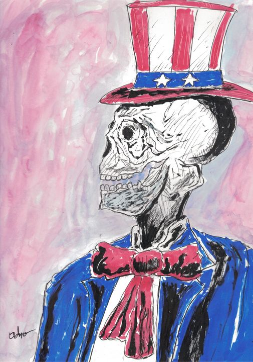 Died on the 4th of July - Izzo Artworks (Anthony Izzo)