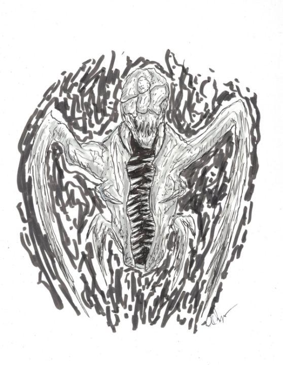 Horror Creature Sketch - Izzo Artworks (Anthony Izzo)